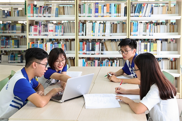 Two Vietnamese universities listed in QS world rankings