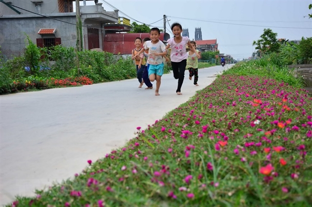 Developing new-style rural areas aims to improve peoples quality of life