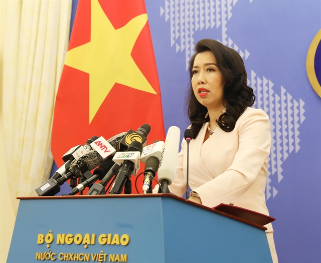 Việt Nam opposes Chinas illegal activities in East Sea