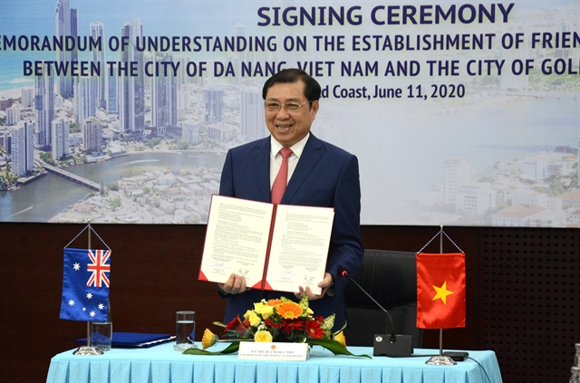 Đà Nẵng Australias Gold Coast ink deal to step up ties
