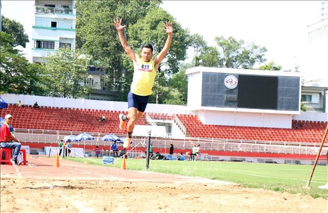 HCM City triumph at Thống Nhất Speed Cup athletics tournament