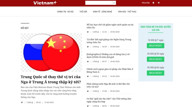 Switch to paid news a must for Vietnamese journalism: editors-in-chief
