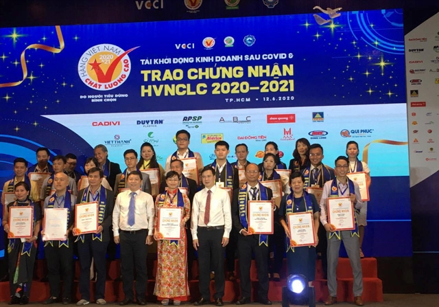 Vietnamese High-Quality Goods awards given away to more than 600 firms