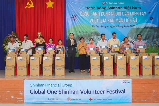 Shinhan Bank supports Mekong Delta residents