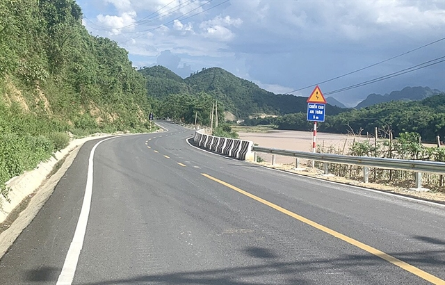National Highway 217 open to traffic after upgrade