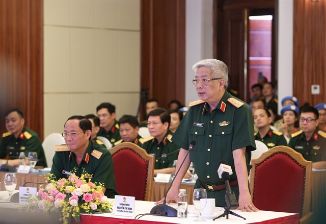 Vietnamese peacekeepers report on COVID-19 prevention