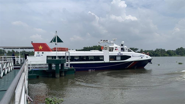 High-speed boats to connect HCM City Bình Dương