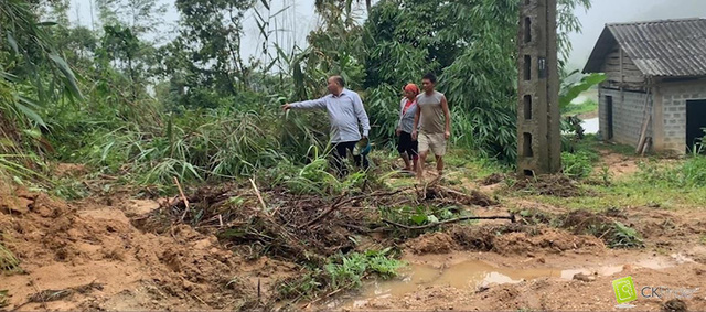 Hà Giang suffers losses worth VNĐ600 million due to heavy rains