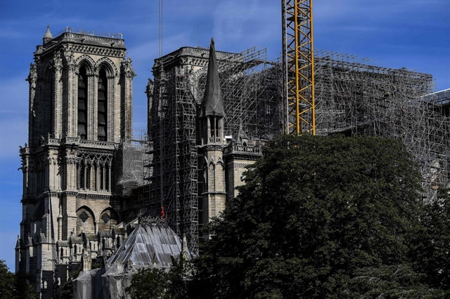 Reconstruction of Frances Notre-Dame to begin early 2021: archbishop