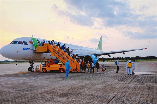 Bamboo Airways repatriate more than 200 Vietnamese citizens