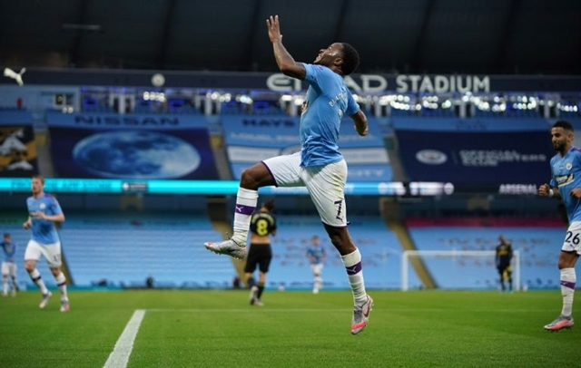 Man City make winning return after joining race protest