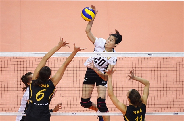 Ngọc Hoa a volleyball pioneer of Việt Nam