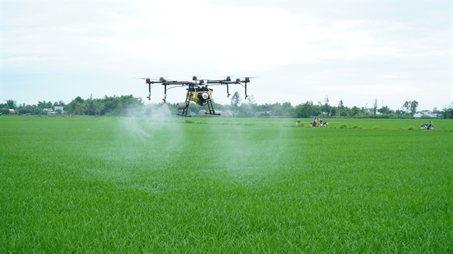 Central province to use drones in rice farming