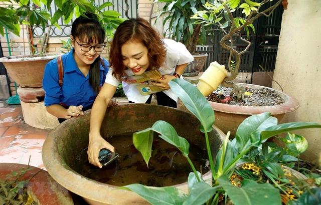 Risk of dengue fever outbreak in Hà Nội