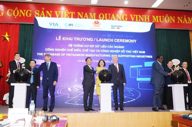 Database of Vietnamese manufacturing and support industries launched