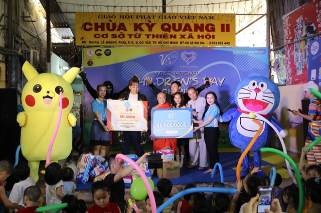 250 disadvantaged children receive gifts on Childrens Day