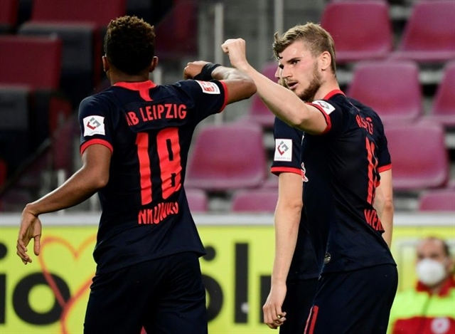 Werners Leipzig back on course for Champions League with Cologne win