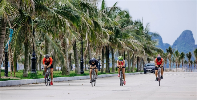 Athletes to compete in Tuần Châu Sunset Triathlon in August