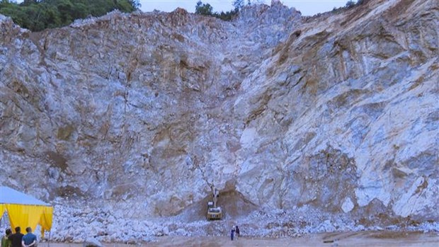 Last victim of quarry landslide found
