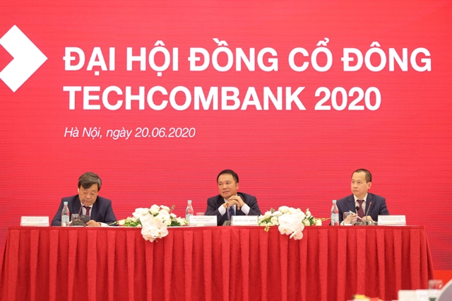 Techcombank targeted VNĐ13 trillion pre-tax profit in 2020
