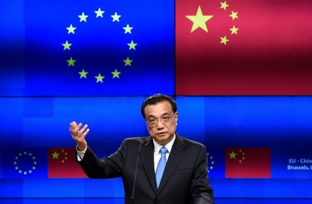 With ties in the balance EU and China hold tense summit