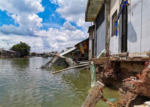 Landslides threatens Cần Thơ residents