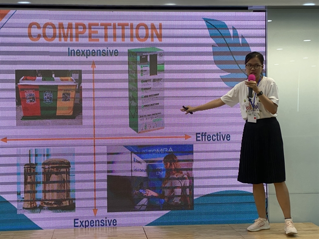Đà Nẵng university students win first prize at investor-style pitch competition