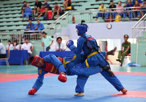 National vovinam top teams champs starts in Yên Bái