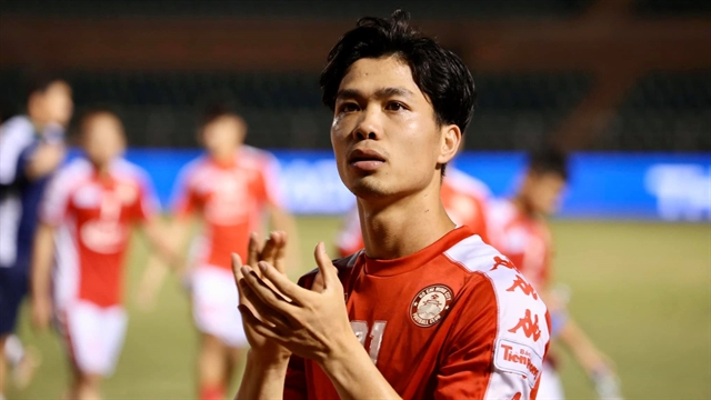 Striker Phượng could miss AFF Cup