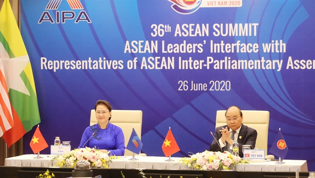 ASEAN governments parliaments boost ties to build people-centred community