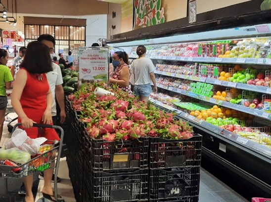 AEON promotes consumption of Vietnamese agricultural products in domestic foreign markets