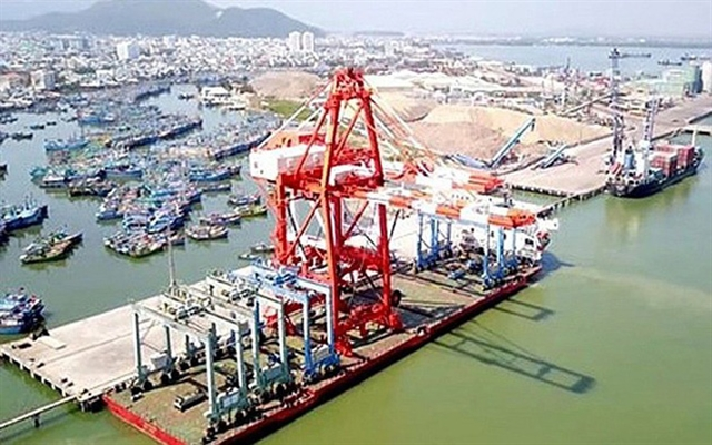 Quy Nhơn Port opens transport service route to Northeast Asia
