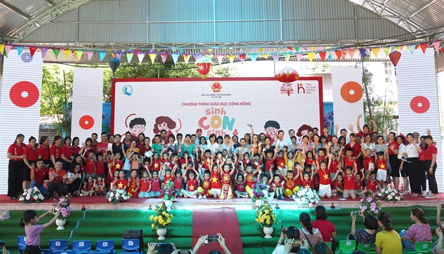 Community educational programme launches first workshop in Bắc Giang Province