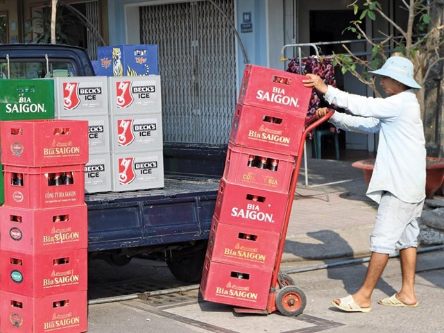 VN stocks fall for sixth straight day