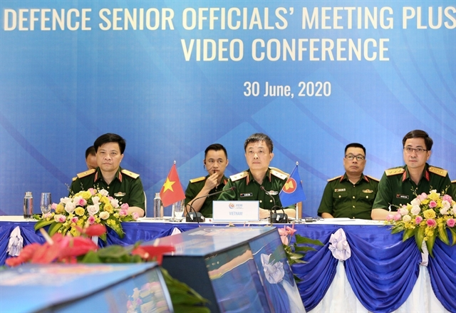 Conference for regional international defence officialsheld in Hà Nội
