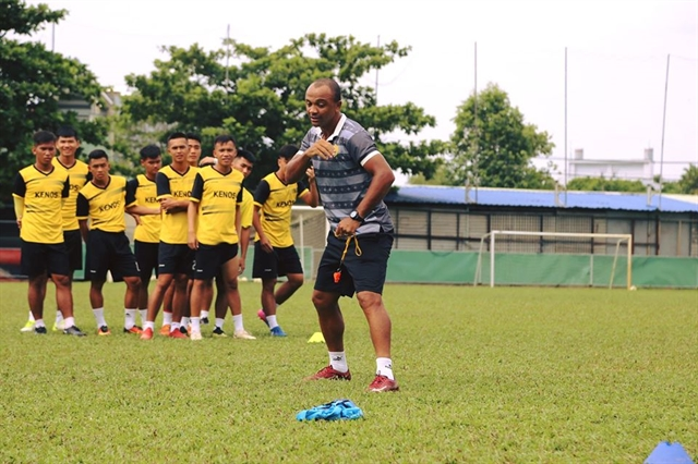 Brazilian coach eyes great times at Gia Định FC