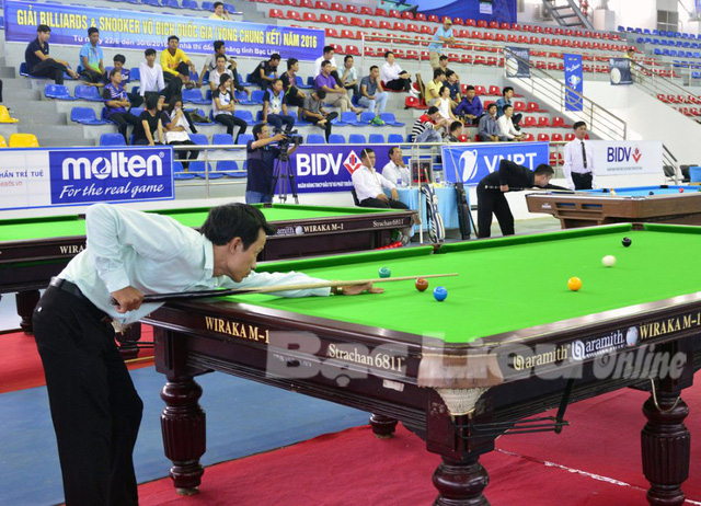 Athletes vie for billiards titles in Kiên Giang