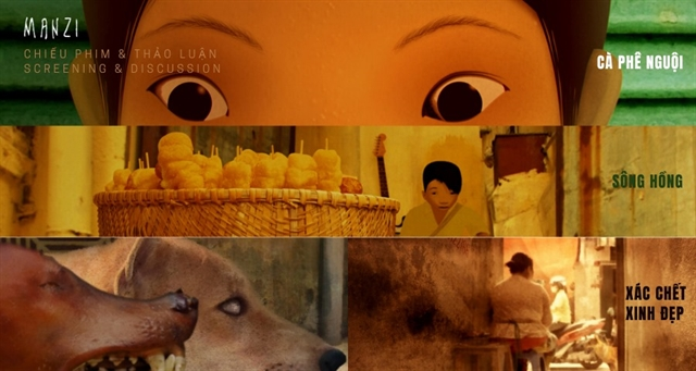 Manzi Art Space shows animated films about Việt Nam