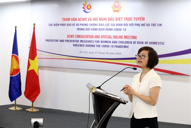 ASEAN discusses occurrence of domestic violence during COVID-19 pandemic