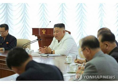 NK leader holds politburo meeting makes no mention of inter-Korean issues