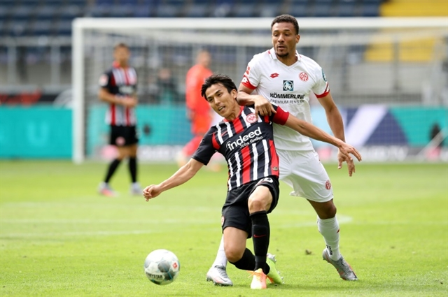 Japans Hasebe proud after setting Asian Bundesliga games record