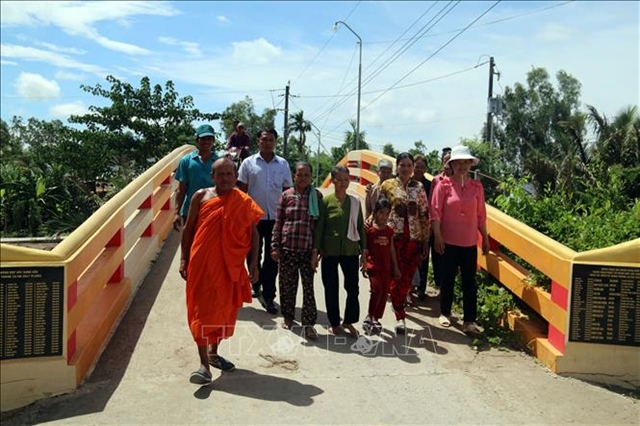 Kind-hearted monk contributes to Khmer community