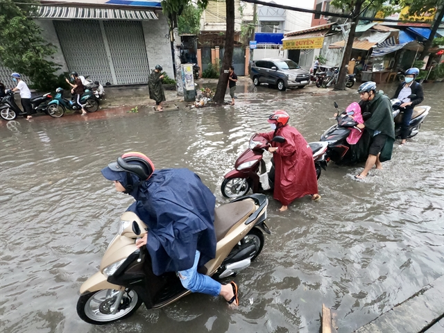 HCM City sees big decrease in street flooding