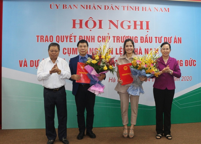 Two projects worth 215 million granted in Hà Nam