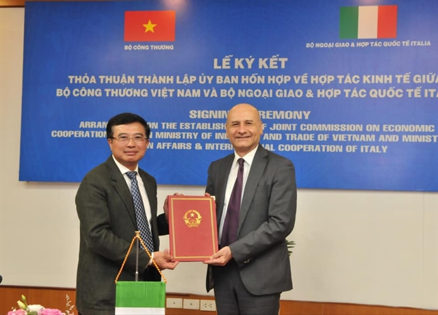 New Joint Commission on Việt Nam-Italy Economic Co-operation formed