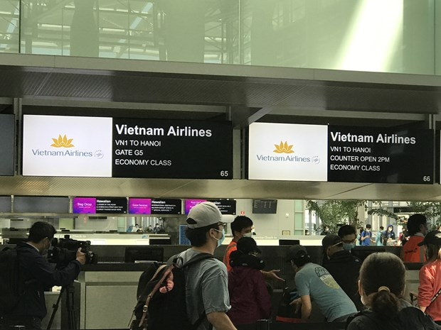 346 Vietnamese citizens brought from US amid COVID-19 pandemic