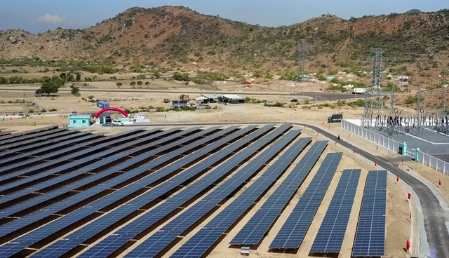 32.5million solar power farm opens in Ninh Thuận