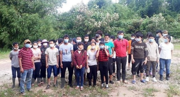Border guards arrest 33 people illegally entering Việt Nam