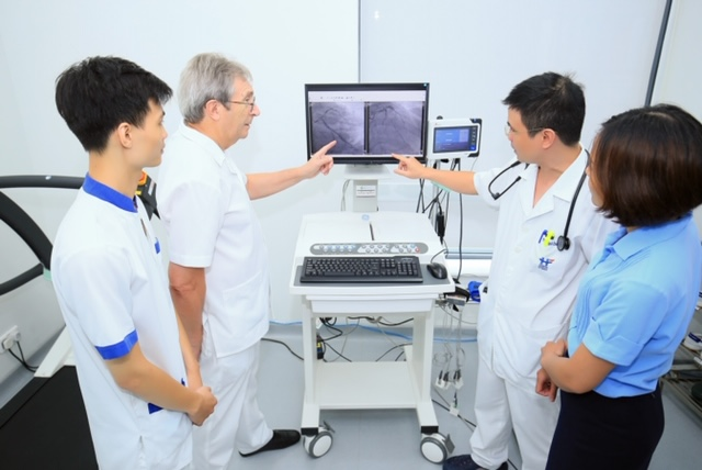Hanoi French Hospital offers cardio screening package