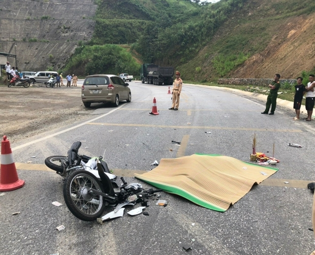 Mexican woman dies in traffic accident